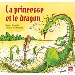 Litt_enfance_la princesse et le dragon